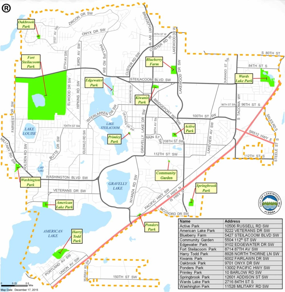 Park Shelter Reservations City Of Lakewood - Map-of-reservations-in-us