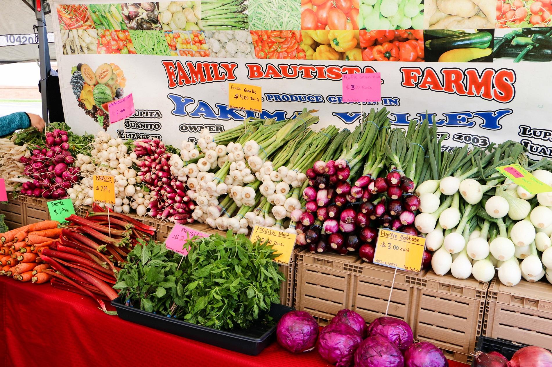 Bautista Family Farms at the Lakewood Farmers Market